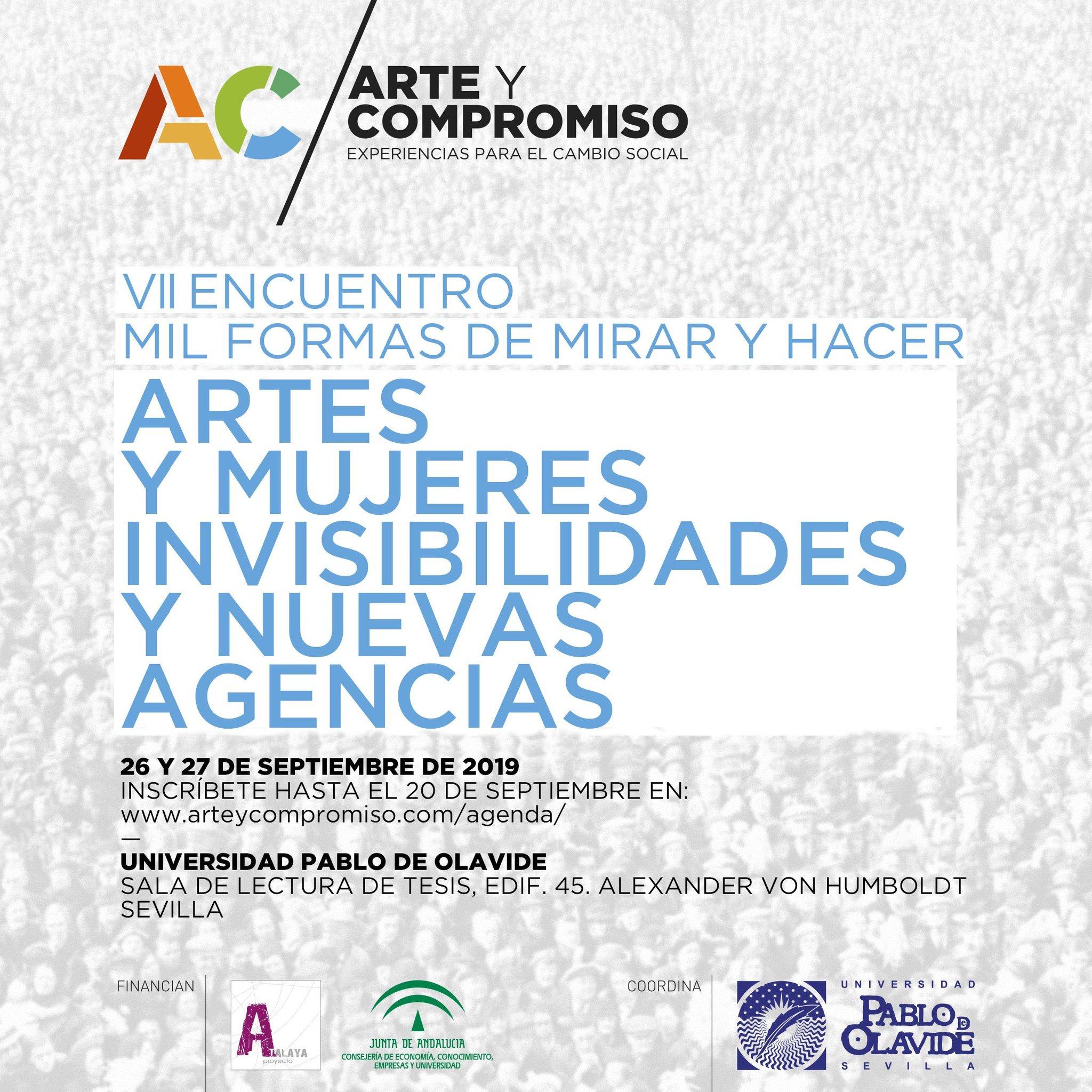 'Artes y Mujeres. Invisibilidades y Nuevas Agencias'